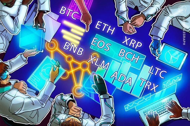 Bitcoin, Ethereum, Ripple, Bitcoin Cash, Litecoin, EOS, Binance Coin, Stellar, Cardano, TRON: Price Analysis May 10